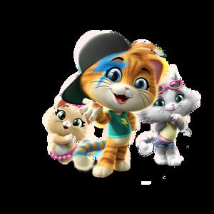 44 Cats die Kinderserie für Kinder ab 2 Jahren