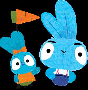 Brave Bunnies die Kinderserie für Kinder ab 2 Jahren