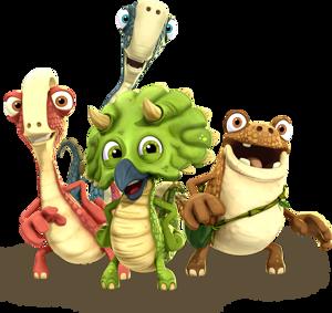 Gigantosaurus die Kinderserie für Kinder ab 2 Jahren