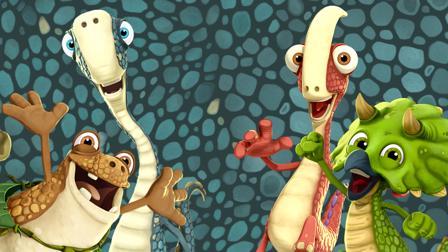Gigantosaurus Spiel Das Dschungel-Rennen