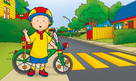 Caillou Spiel Unterwegs mit Caillou