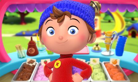 Noddy, der kleine Detektiv Spiel Zeit für Eiscreme