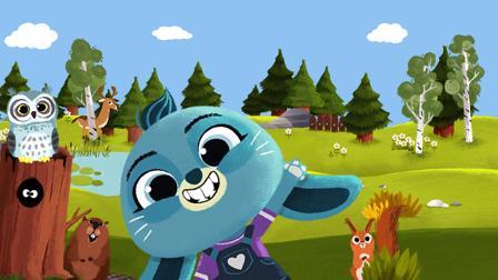 WoodieHoo Spiel Spurensuche mit Bonnie