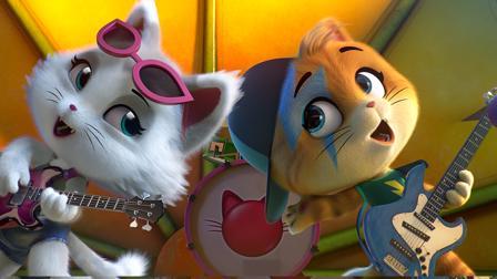 44 Cats Spiel Bandprobe mit den Buffycats