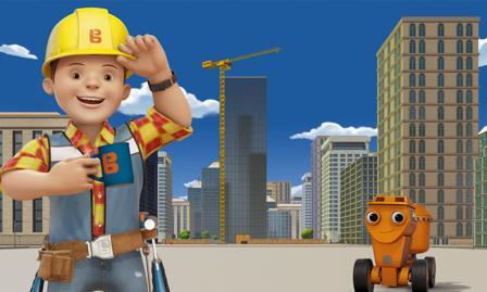 Bob der Baumeister Spiel Türme bauen mit Bob